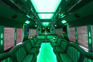 Party Buses - A-List Limousine - Thor-Ford-F650-Interior