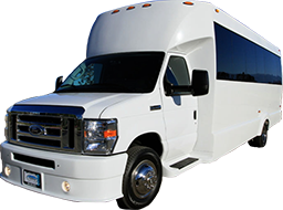 Party Buses - A-List Limousine - jewel-ford-f450-vehicle
