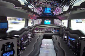 Limousine & Sedan Fleet for Rent in Westland Michigan - tank-hummer-h2-interior