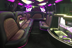 Limos & Sedans - A-List Limousine - the-apollo-2017-jet-door-escalade-interior